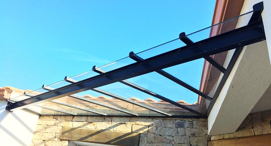 Création de verrières métalliques à Falleron près de Challans par CMG métallerie